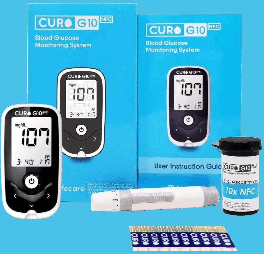 Blood Glucose Test Meter